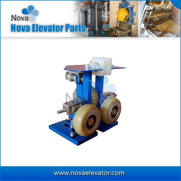 Elevator Shoes, Elevator Rolling Guide Shoes for Elevator Cabin and Counterweight