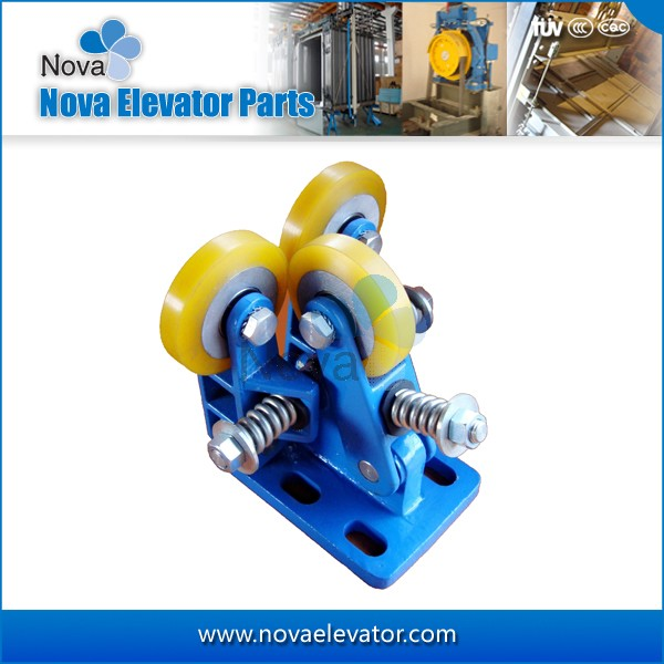 Elevators Components, Customized Counterweight/ Cabin Rolling Elevator Guide Shoes