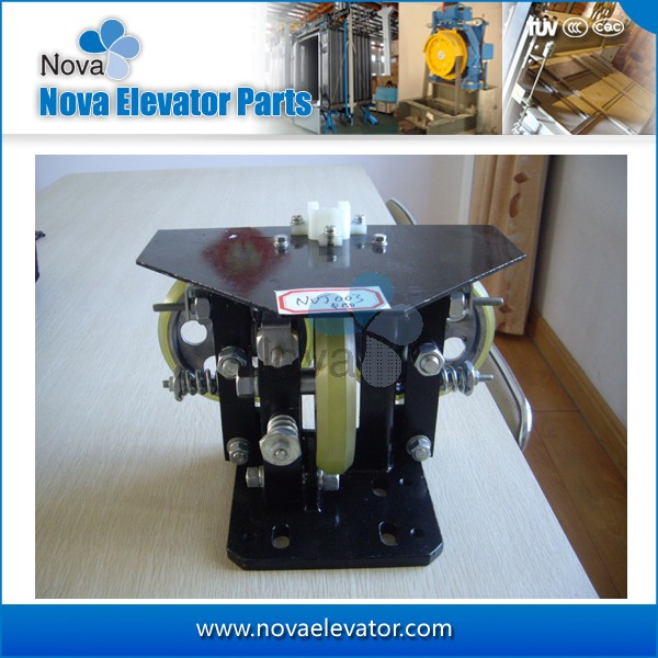 Elevator Guide Roller Guide Shoes for Cabin and Counterweight, Elevator Guide Shoes